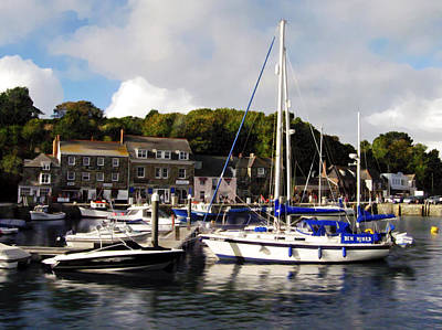 Photograph - Padstow Harbor Cornwall Uk by Kurt Van Wagner