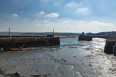 Photograph - Padstow Harbour by Brian Roscorla