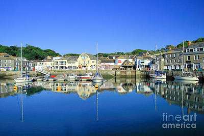 Padstow Harbour Art Print by Carl Whitfield
