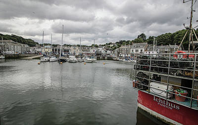 Cornish Wall Art - Photograph - Padstow Harbour by Martin Newman