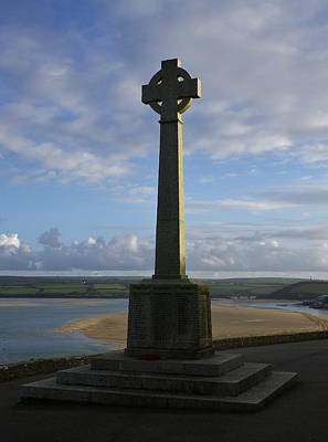 Photograph - Padstow Monument Sunset North Cornwall by Richard Brookes
