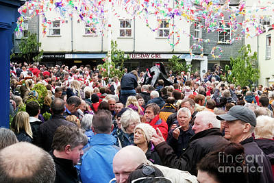 Photograph - Padstow 'obby 'oss Day' Streets by Terri Waters