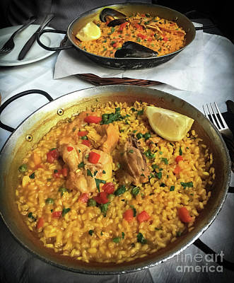 Photograph - Paella  by Colleen Kammerer