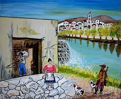 Painting - Paesaggio Siciliano by Loredana Messina