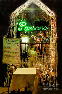 Photograph - Paesano In Little Italy by Sandy Moulder