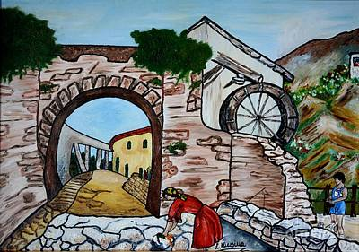 Painting - Paese by Loredana Messina