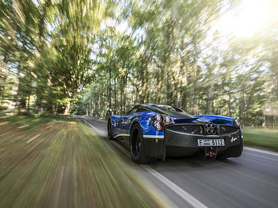 Photograph - Pagani Huayra Road Trip by George Williams