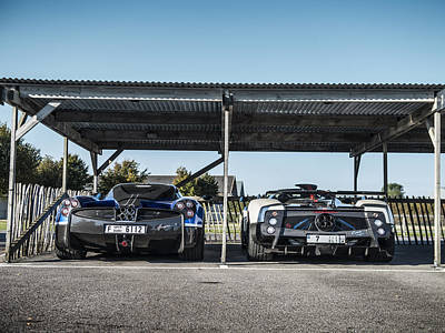 Photograph - Pagani Road Trip by George Williams