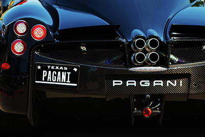 Photograph - Pagani Texas by Rospotte Photography