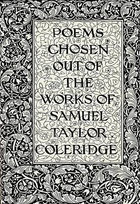 Coleridge Drawing - Page Decoration From The Kelmscott by Vintage Design Pics