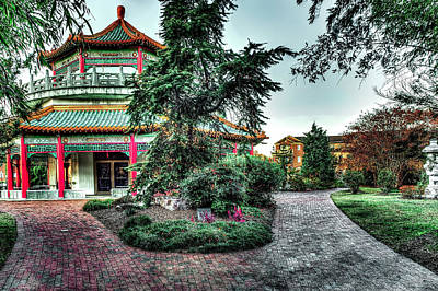 Photograph - Pagoda Garden Tea House by Pete Federico