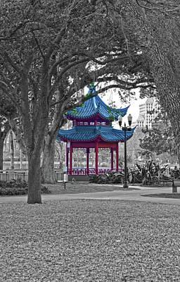 Photograph - Pagoda by Juan Trujillo