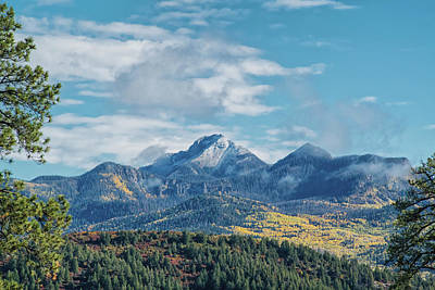 Photograph - Pagosa Peak Autumn 2014 by Jason Coward