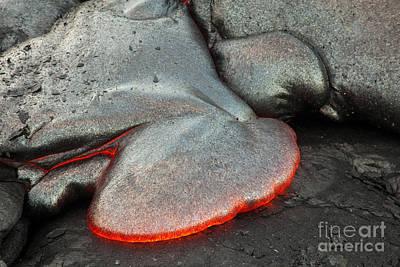 Pahoehoe Lava Art Print by Craig Ellenwood