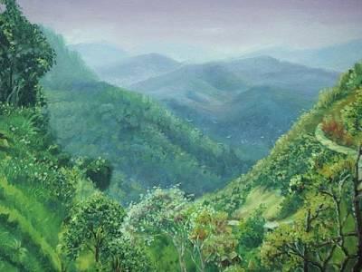 Painting - Pai by Wanvisa Klawklean