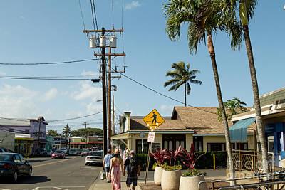 Paia Maui Hawaii Candid Street Photography Art Print