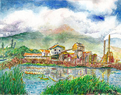 Painting - Paia Mill 1 by Eric Samuelson