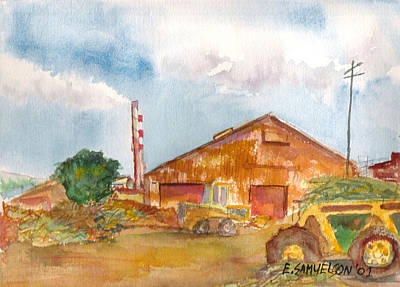 Painting - Paia Mill 3 by Eric Samuelson