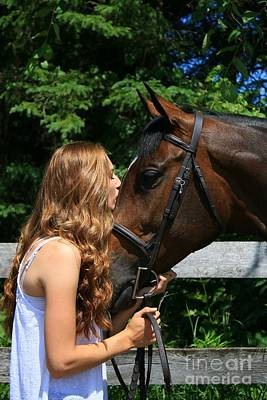 Photograph - Paige-lacey11 by Life With Horses