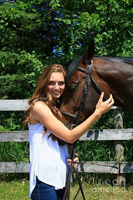 Photograph - Paige-lacey12 by Life With Horses