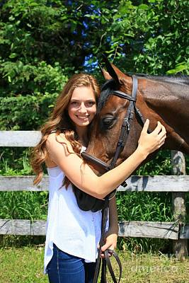 Photograph - Paige-lacey13 by Life With Horses