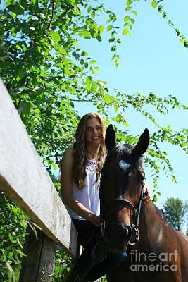 Photograph - Paige-lacey17 by Life With Horses