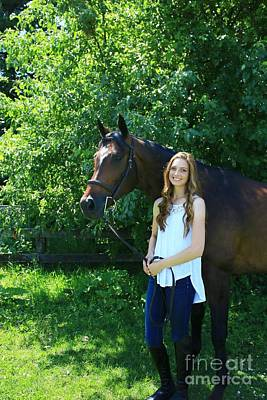 Photograph - Paige-lacey19 by Life With Horses