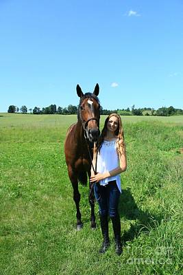 Photograph - Paige-lacey35 by Life With Horses