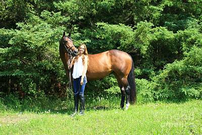 Photograph - Paige-lacey36 by Life With Horses