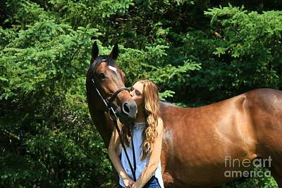 Photograph - Paige-lacey37 by Life With Horses