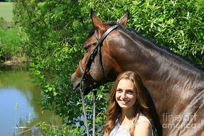 Photograph - Paige-lacey39 by Life With Horses