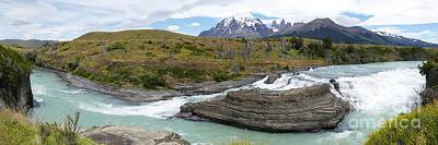 Photograph - Paine Cascade by PJ Boylan