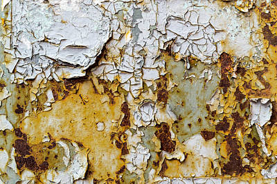 Photograph - Paint And Rust by John Williams