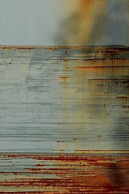 Photograph - Paint And Rustscape by Denise Clark