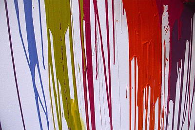 Photograph - Paint Drips by Denise Mazzocco