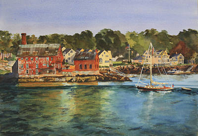 Cape Cod Painting - Paint Factory by Holly Young