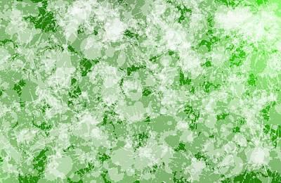 Paint Digital Art - Paint Fashion In Green by Alberto RuiZ