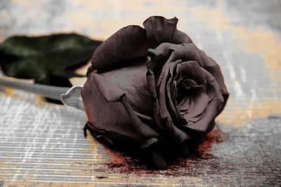 Photograph - Paint It Black by Michael Damiani