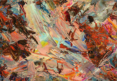 Abstract Expressionism Wall Art - Painting - Paint Number 36 by James W Johnson