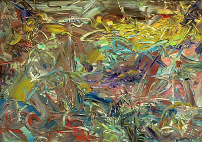 Painting - Paint Number46 by James W Johnson