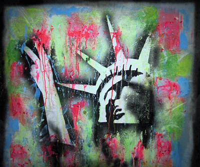 Paintball Peace Art Print by Robert Wolverton Jr
