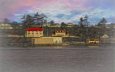 Photograph - Painted Bayfront by Bill Posner