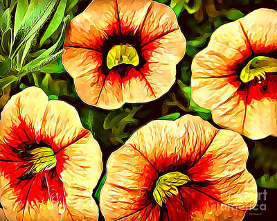 Photograph - Painted Beauties by Kathy M Krause