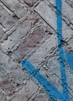 Winter Animals - Painted Brick Wall by Robert Ullmann