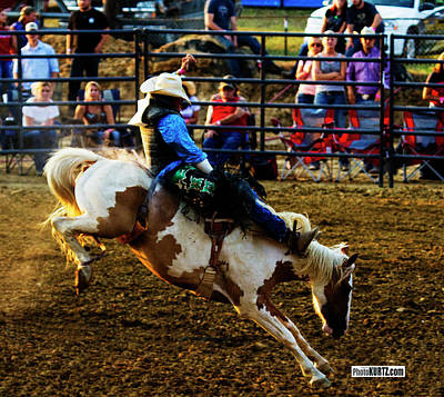 Photograph - Painted Bronc by Jeff Kurtz