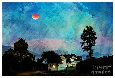 Painted By Fog And Moonlight Art Print