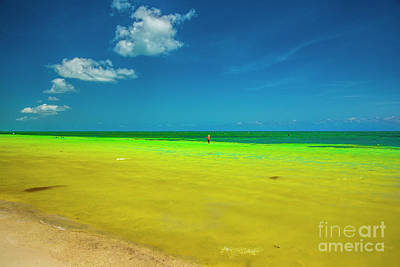 Tortuga Beach Photograph - Painted By Nature, Florida Keys by Felix Lai