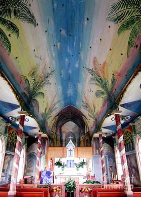 Painted Church 10 Art Print