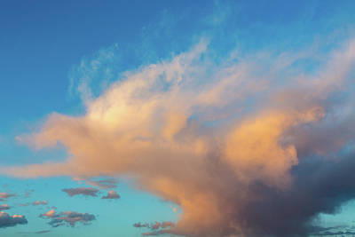 Photograph - Painted Clouds by SR Green