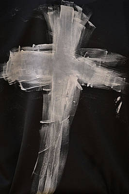 Photograph - Painted Cross by Nadalyn Larsen